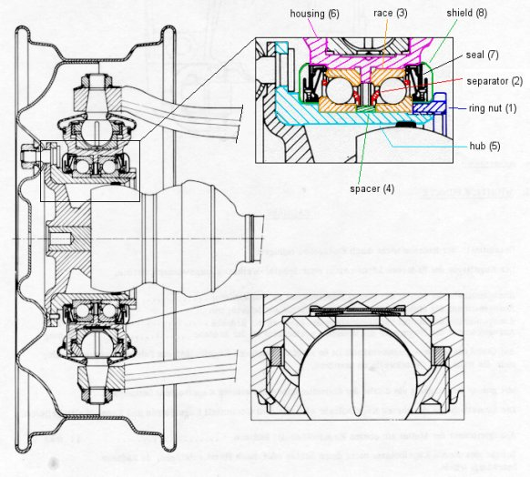 citroen traction avant wiring diagram ds pivot with hub